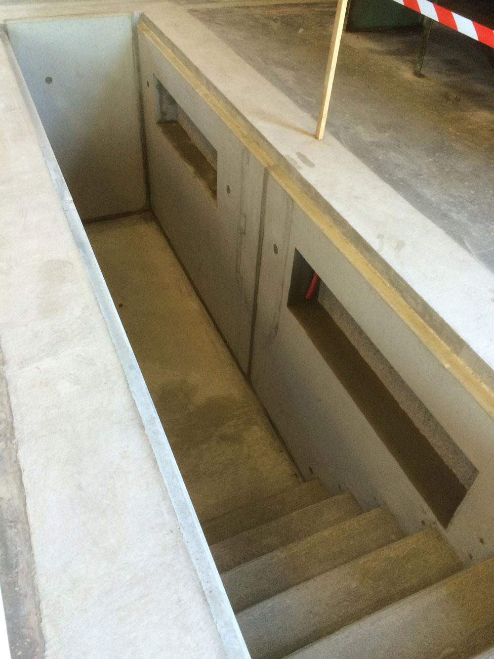 Construction d 39 ouvrages d 39 art for Faire une fosse de garage