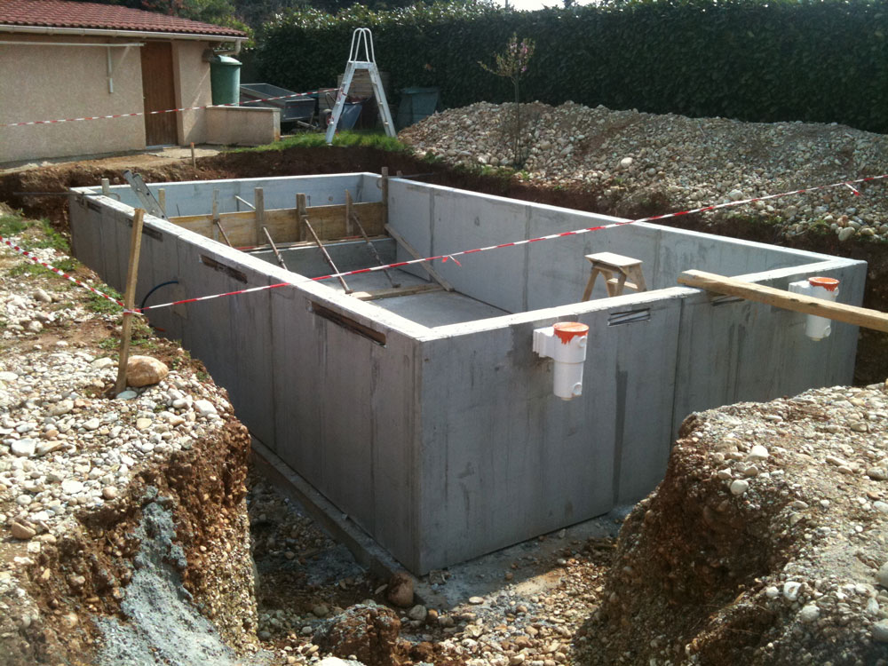 Construcion de piscine for Construction piscine permis