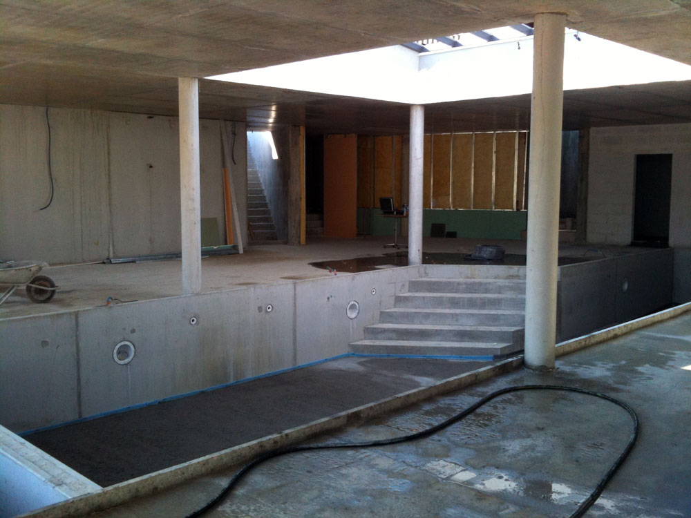 construcion de piscine for piscine interieure construction